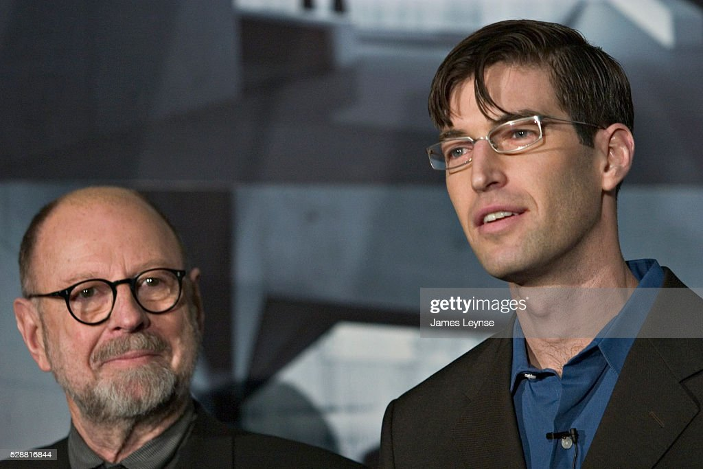 Architect Michael Arad And Landscape Architect Peter Walker