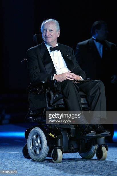 """Architect Michael Graves is honored at the Christopher Reeve Paralysis Foundation 13th Annual """"A Magical Evening"""" Gala at the Marriot Marquis Hotel..."""
