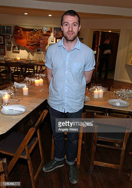 Architect Simon Battisti attends the Friends N Family Dinner at The Jack Warner Estate on February 10 2011 in Los Angeles California