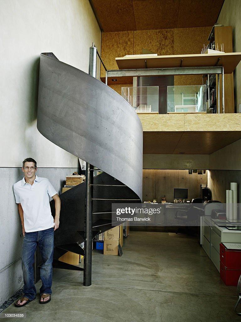Stairwell flip flop enjoyment