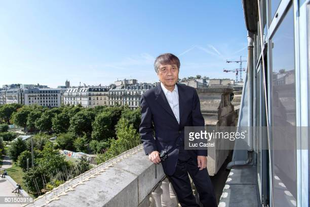 Architect Tadao Ando attends the Press Conference to announce the transformation of the former Paris Stock Exchange into the New Museum of the...