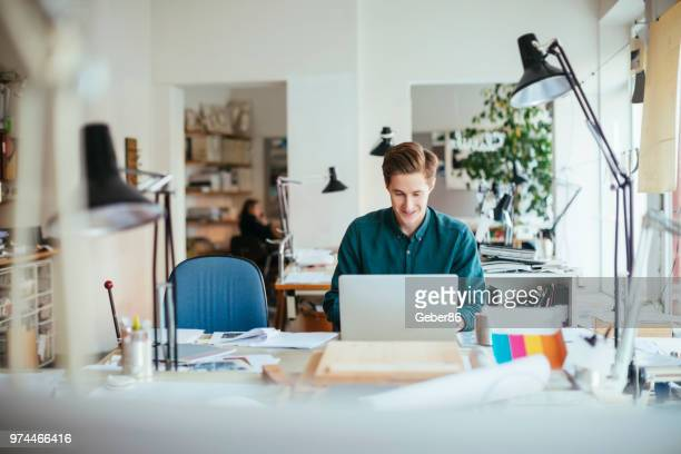 architect working on a project - scandinavian culture stock pictures, royalty-free photos & images
