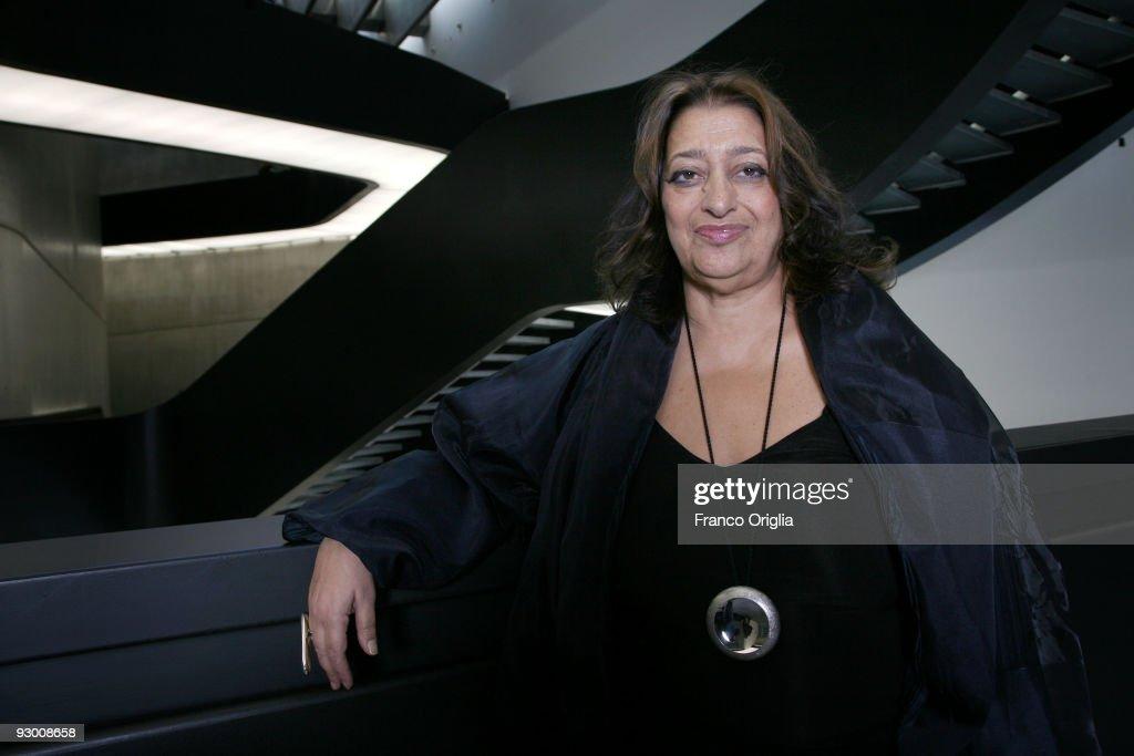 Zaha Hadid Portrait Session