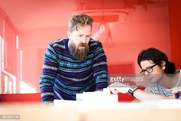 architects having a meeting in their studio