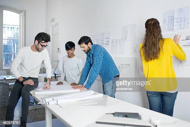 Architecte de la journée de travail