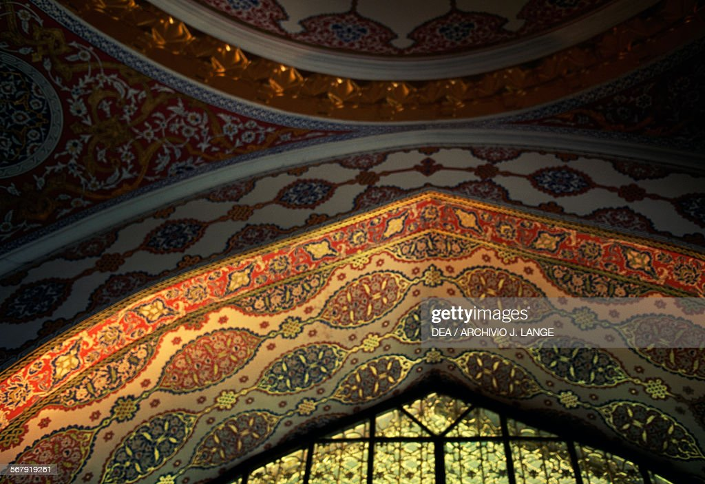 Imperial Council Hall, Topkapi Palace, Istanbul : News Photo