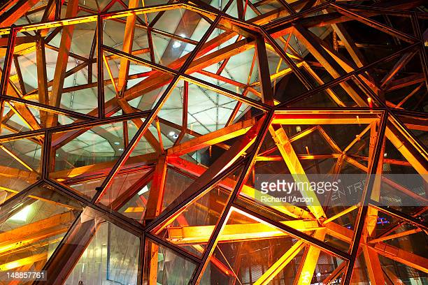 Architectural detail in atrium at Federation Square.
