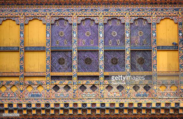 Architectural detail of a monastery