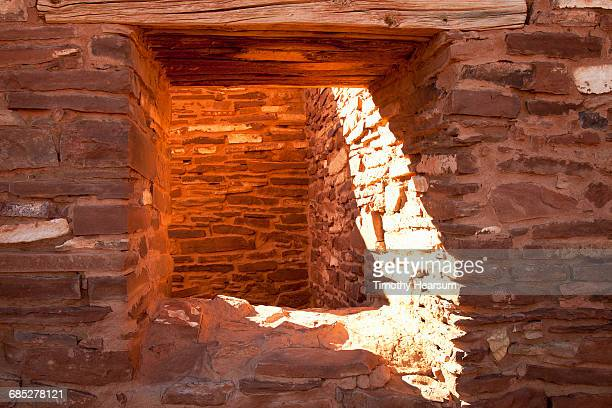 architectural detail of abo ruins - timothy hearsum stock pictures, royalty-free photos & images