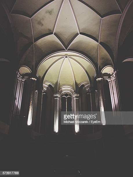 Architectural Detail Of Ceiling Of Church