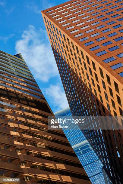 Architectural detail of office block in downtown Philadelphia
