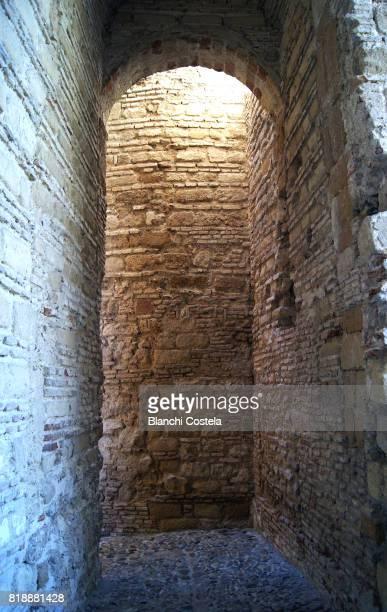 Architectural detail of the Alcázar de Jerez door