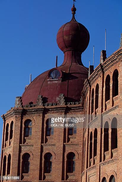 Architectural detail of the Campo Pequeno Bullring Lisbon Portugal 19th century