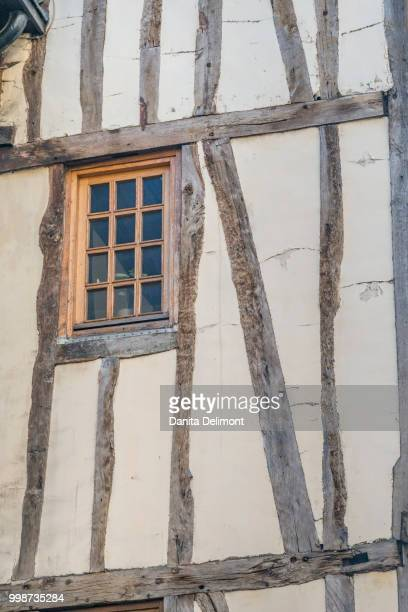 architectural detail, rouen, normandy, france - rouen stock pictures, royalty-free photos & images