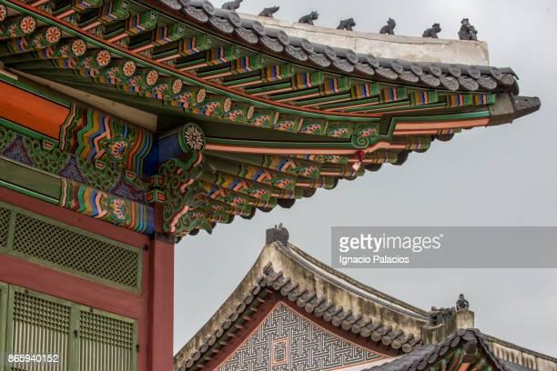 Architectural details, Deoksugung Palace, Seoul