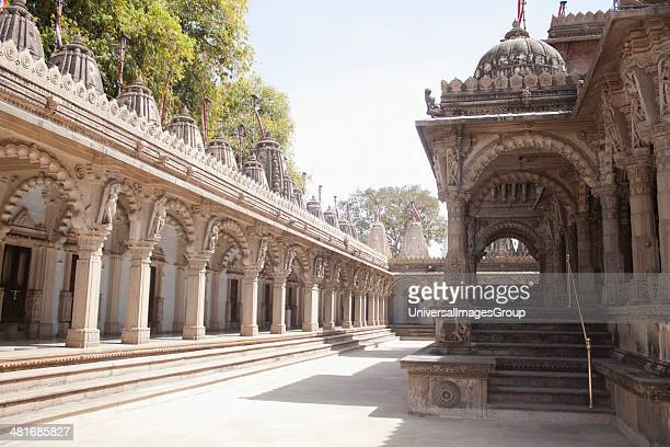 Architectural details of a temple, Swaminarayan Akshardham Temple, Ahmedabad, Gujarat, India.