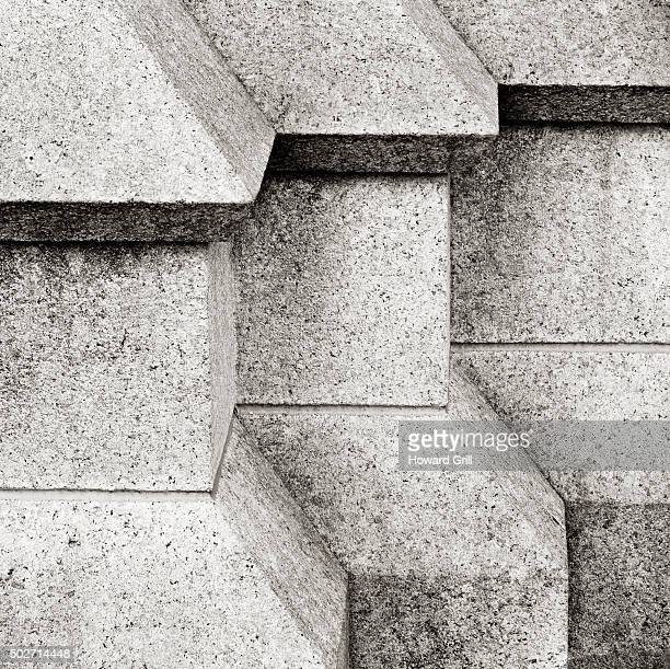 architectural details - geometrical architecture stock photos and pictures