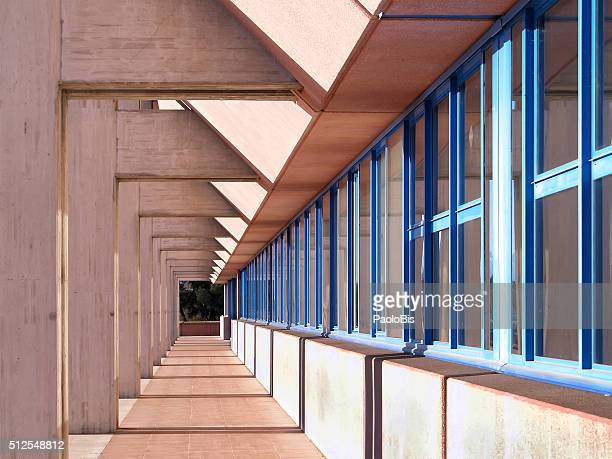 Architectural details, University of Udine, Italy