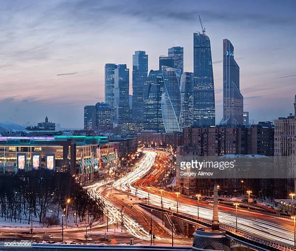 Architectural diversity in Moscow