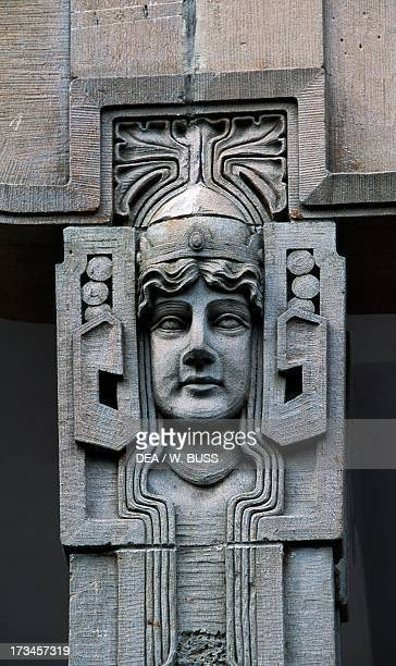 Architectural frieze Ammende Villa Parnu Estonia