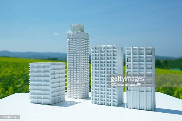 Architectural models in the field