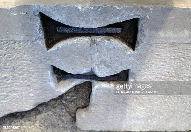 Architectural motif ruins of Pasargadae Iran Achaemenid civilisation 6th century BC