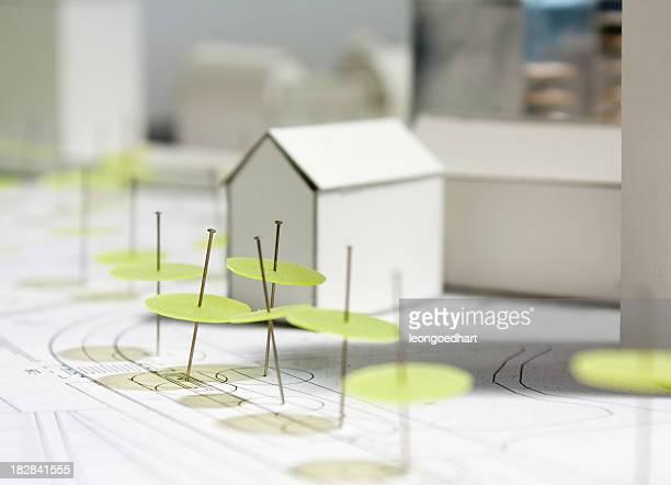 Architectural scale model - maquette