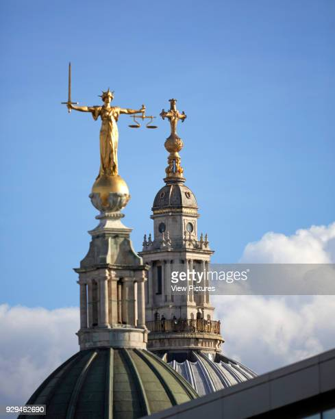 Architectural Stock various United Kingdom Architect various 2000 Old Bailey with St Paul's in background