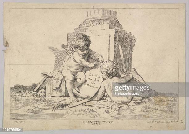 Architecture, 18th century. Artist Johann Georg Hertel.