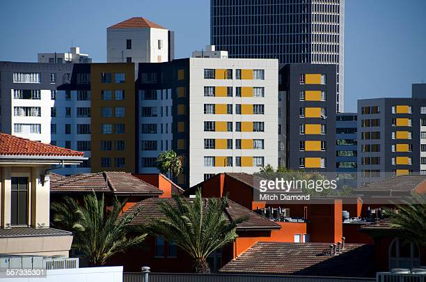 architecture and design around the grove - the grove los angeles stock pictures, royalty-free photos & images