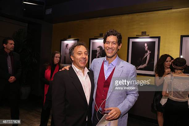 Architecture and Design Film Festival founder/director Kyle Bergman and Documentary filmmaker Marco Orsini attend THE PRICE OF DESIRE Private...