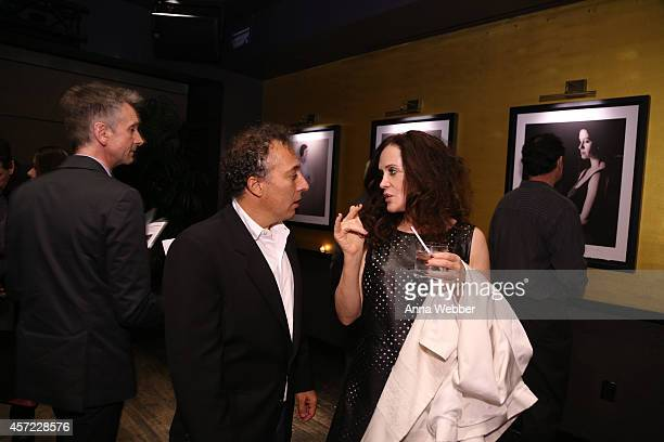 Architecture and Design Film Festival founder/director Kyle Bergman attends THE PRICE OF DESIRE Private Screening at Tribeca Cinemas on October 14...