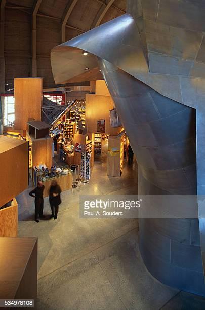 architecture at experience music project - エクスペリエンスミュージックプロジェクト ストックフォトと画像
