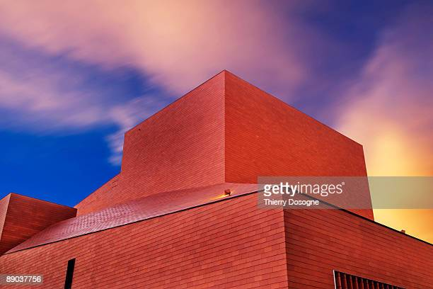 architecture- bruges - concert hall stock pictures, royalty-free photos & images