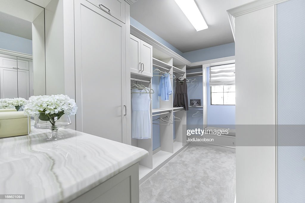 Architecture: Custom closet : Stock Photo