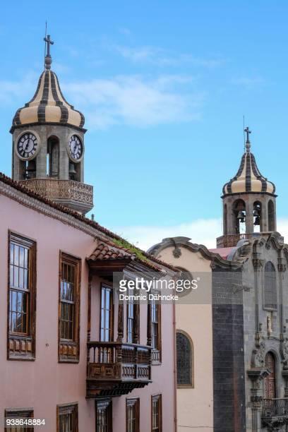 Architecture detail of 'La Orotava' town, in north of Tenerife island