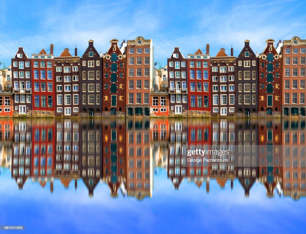 Architecture in Amsterdam, Holland : Foto stock