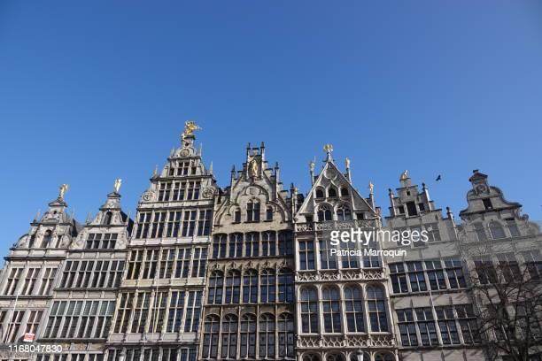 architecture in antwerp, belgium - antwerp city belgium stock-fotos und bilder