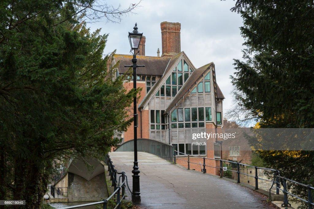 Architecture in Cambridge England : Stock Photo