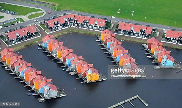 architecture in colour - noord holland stockfoto's en -beelden