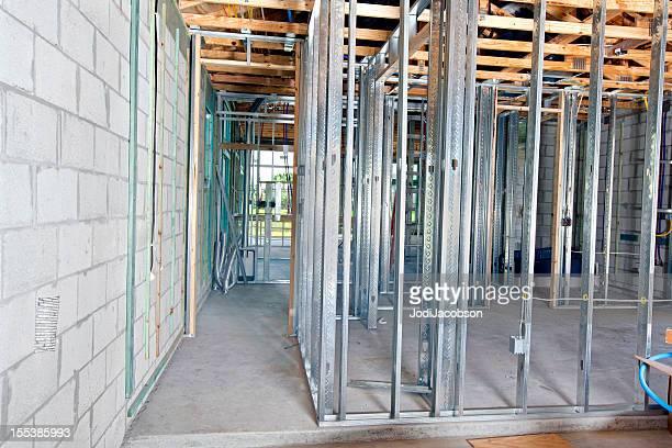 Arquitectura: metal estrutura: Sala de Roupa Suja