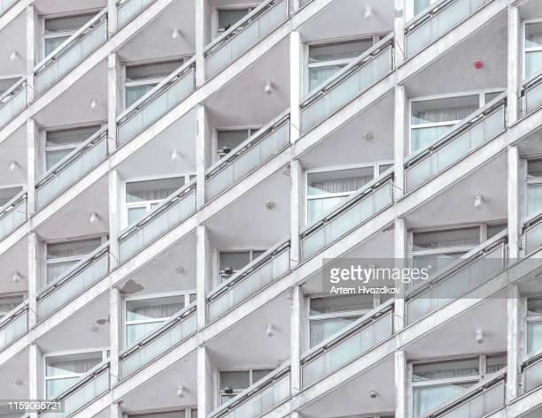 architecture modern elements - ex urss photos et images de collection