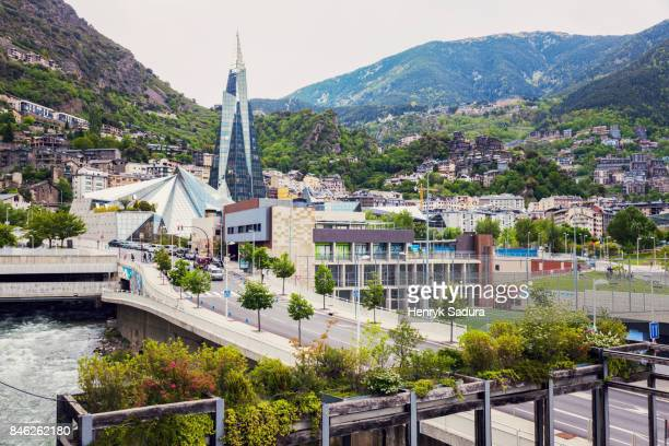 architecture of andorra la vella - andorra la vella stock pictures, royalty-free photos & images