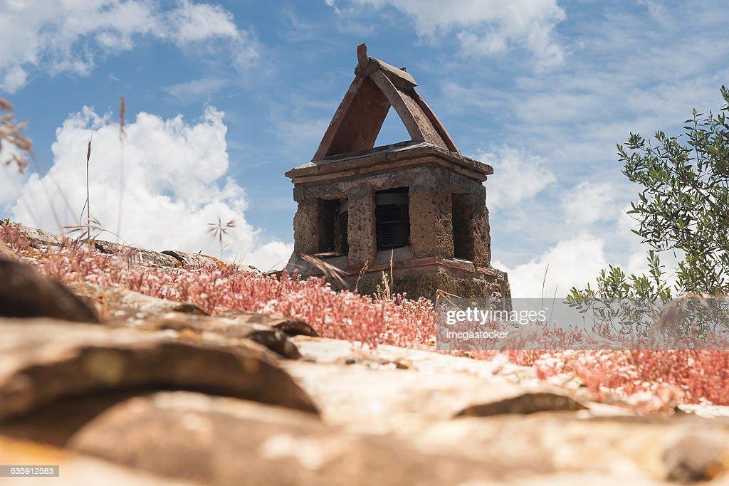 Arquitetura de Bagnoregio : Foto de stock
