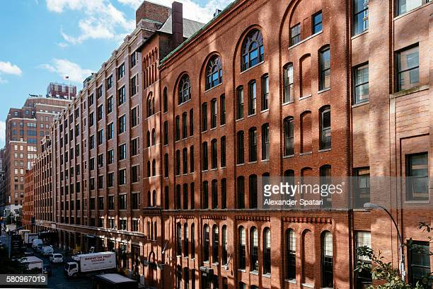 Architecture of Chelsea district, New York City
