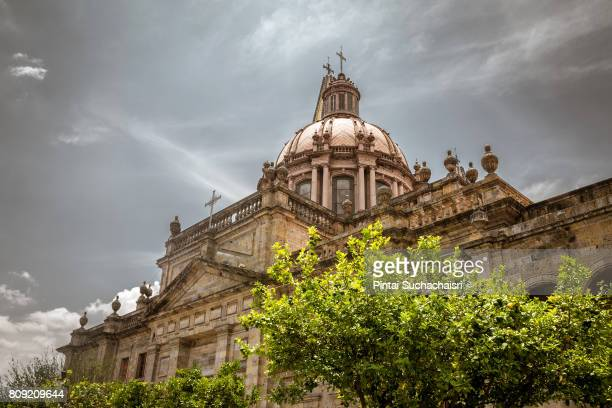architecture of guadalajara cathedral, guadalajara, mexico - guadalajara mexico stock pictures, royalty-free photos & images