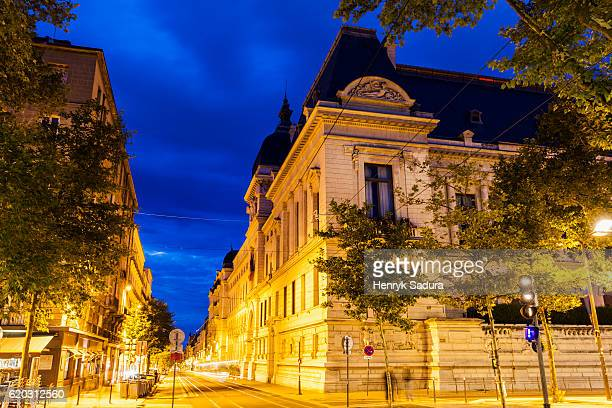architecture of saint-etienne, france - auvergne rhône alpes stock pictures, royalty-free photos & images