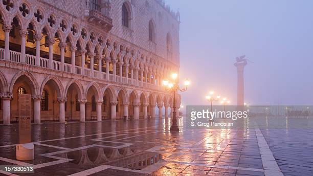 Architecture of Venice at dawn