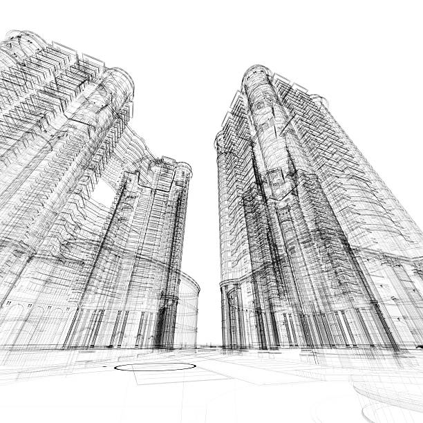 Architecture Sketch Wall Art
