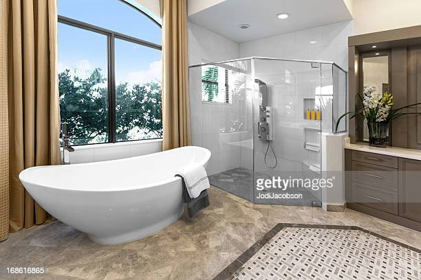 Architecture:Beautiful Bathroom